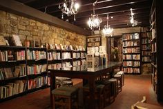 Ampersand Coffee Shop in Paddington (Sydney) second hand books and coffee