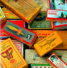 Fishing Lure Boxes, 1920s-1930s  The Sporting Life, Photo: William Stites / Source: Clarkson Potter