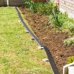 DIY Pallet Garden Bed Edging