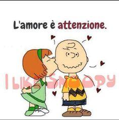 l amore è attenzione