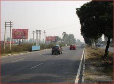 Outdoor Advertising Media Available in Delhi Chandigarh Highway NH 1 #drishtivisionsolution