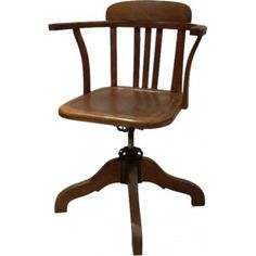 American pivoting tipper chair Stella - 1940s