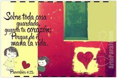 Ministerio Profetico Para Las Naciones #Arteparajesus Proverbios 4:23