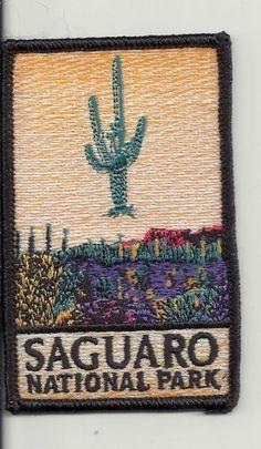 SAGUARO NATIONAL PARK SOUVENIR PATCH (lot# K-0778)