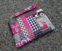 How to Make Quilted Patchwork Panels for a Bag.