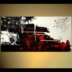 abstract in red black and white background
