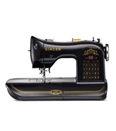 Super cool.  New Singer 160th Anniversary sewing machine with vintage styling.  :o)