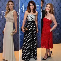 Festa Império - Leticia Birkheuer veste Valentino, Maria Ribeirto veste Carolina Herrera e Marina Ruy Barbosa veste Valentino.