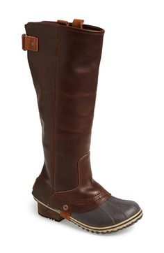 These may be my new Sorel boots for the fall!  Love them and they will keep my feet dry! @nordstrom