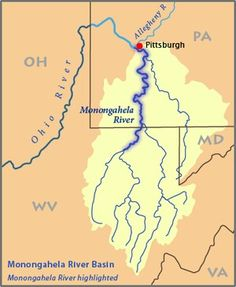 Map Of The Ohio River Valley French And Indian War Pinterest - Ohio river map