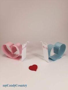 Chiocciole di carta innamorate - San Valentino fai-da-te