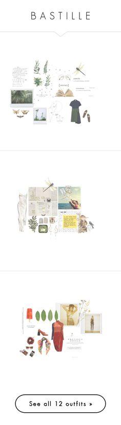 """B A S T I L L E"" by ducci ❤ liked on Polyvore featuring Benetton, H by Hudson, Lake, Dot & Bo, WALL, Diego Percossi Papi, Anthropologie, art, Richard Chai Love and La Perla"