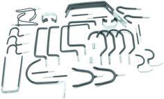 Rolson 60902 Home and Garage Hook Set - 30 Pieces Garage Hooks, Ladder Hooks, Crochet, Home, Ebay, Great Britan, Ad Home, Ganchillo, Homes