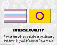Intersexual definicion