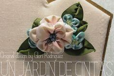 Broche Catriona-bouquet vintage