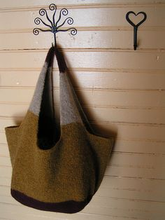 French market bag - the original by Polly Outhwaite is heavily felted but I prefer this version
