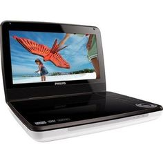 """Philips PD9000 9"""" PAL/NTSC Region Free Multi Region Code Free Portable DVD Player, Dual Voltage 110-220 Volts with 5 Hour Battery, Black Divx, Xvid & MPEG4 Compatible (Remote control, Mounting Pouch, A/V Cable, Car Charger & A/C Adapter inlcluded) by Philips. $109.99. Built-in stereo speakers   The stereo speaks provide quality sound and allow you to listen freely. Enjoy music anytime, anywhere, with built-in stereo speakers that allow the convenience and enjoyment of music pl..."""
