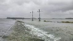 Noordwaard eerste overstroming 2