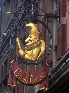 Punch Tavern, Fleet Street