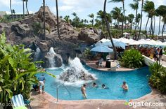 The pool at the Grand Wailea Resort Hotel and Spa
