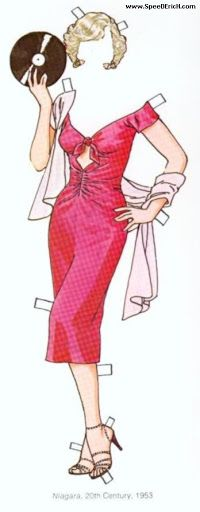 Marilyn Monroe Paper Doll.This From speedderich.com - MaryAnn - Picasa Web Albums
