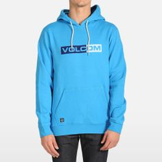 Volcom Electric Blue Standard Pullover Hoodie
