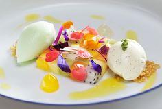 Jacob Jan Boerma, Mosaic of tropical Fruit, Restaurant De Leest, styling: Frauke Koops