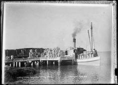 Factory Wharf, Dargaville - Alexander Turnbull Library