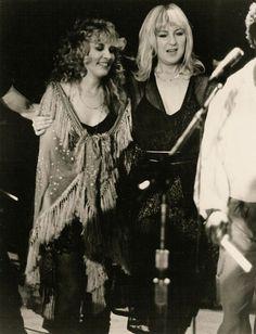 1981 Bella Donna Christine McVie Stevie Nicks live Fleetwood Mac