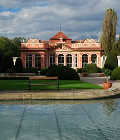The pavillon in the garden of Černín palace, Prague, Czechia #city #prague #czechia