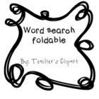 Use this foldable for word searching in books, magazines, etc and working definitions, synonyms and antonyms. Includes directions. Thank you!!...