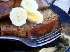Banana Bread French Toast from @PaleOMG