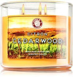 Bath & Body Works 3 Wick Candle 14.5 Oz Citron Cedarwood Bath & Body Works http://www.amazon.com/dp/B014VF88EY/ref=cm_sw_r_pi_dp_zeH3wb1Y7F2D6