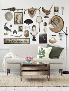 Tempaper lets you design your own wallpaper. Fashion a pattern from family photos or postcards.