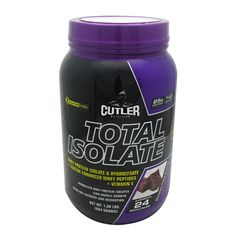 Cutler Nutrition Total Isolate 2 Lbs | PURE Whey Isolate