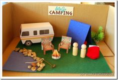 camping....thekids loved making one of these last yr.