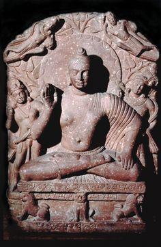 Seated Kapardin Buddha from Katra Mound