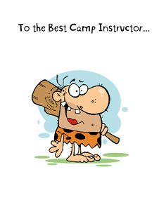 Best Camp Instructor Card