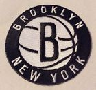 """VINTAGE NBA BROOKLYN NETS IRON ON PATCH 3"""" SEW EMBROIDERED ROUND LOGO BADGE NEW - We Score When You Buy ANYTHING From Amazon/eBay Using Our Links.  Visit Our http://sprtz.us/BrooklynNets ProShop or http://sprtz.us/NBAShop. TY!"""