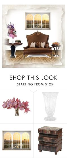 """Spring florals & Christopher Guy"" by rhaxkido ❤ liked on Polyvore featuring interior, interiors, interior design, home, home decor, interior decorating, Christopher Guy, The French Bee and Waterford"