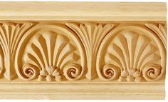 Wood Frieze Molding and Clearwater Wood Molding