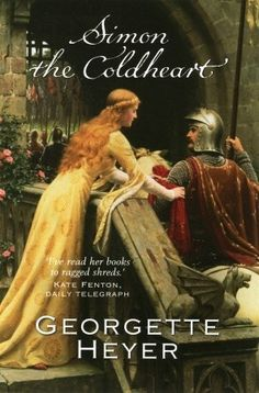 Simon The Coldheart by Georgette Heyer. Not one of my favorites but I have it.