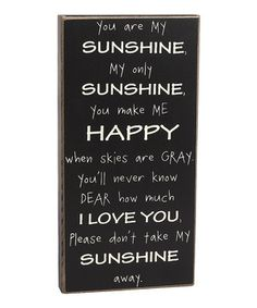 Sweeten décor with this charming box sign that offers a heartwarming message. A lovely way to accent a table or wall, this sign is sure to inspire a cozy and welcoming atmosphere.