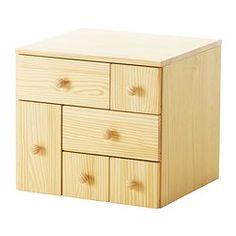 IKEA - IKEA PS 2012, Lisälipasto, 6 laatikkoa, , Massiivipuuta, kestävää ja kaunista luonnonmateriaalia.