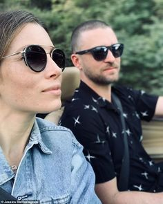 Justin Timberlake shares first two snaps of his youngest son Phineas, 11 months, on Father's Day | Daily Mail Online Jessica Biel, Justin Timberlake, Sunnies Sunglasses, Celebrity Kids, Toscana, Summer Of Love, Videos, Amazing Women, Style Me