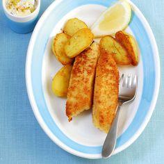 Diese Fischstäbchen können Sie bedenklos Ihren Kleinen servieren! Denn Sie wissen ganz genau, dass Gutes drinsteckt.