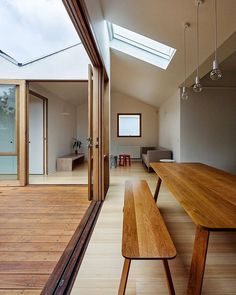 In their new home in Victoria, Australia, the clients requested openness…