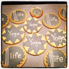 1/11/13 LIFE Yoga + Boutique cookies