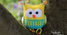 Hello friends! Have not seen))) I present to you the owl rattle toy. This owl has the kinder surprise egg pod inside . I publish for you...