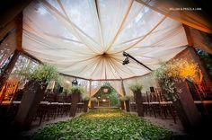TendaSul tendas e Lonas Tensionadas: Casamento ao ar Livre - Estilo Cinema